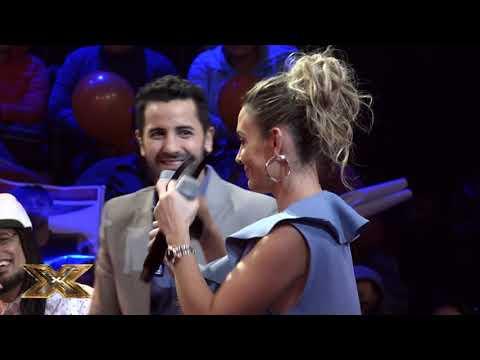 Carlos y Ximena empezaron a calentar el viernes de Factor X