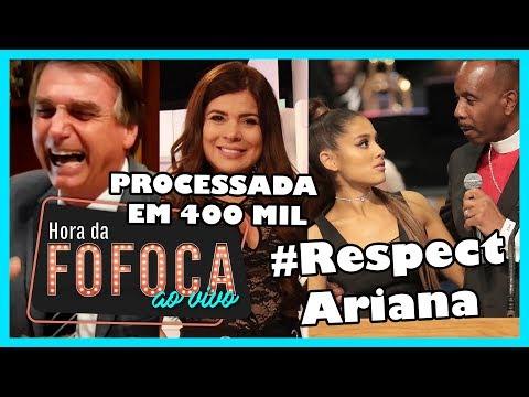 ?Vídeo: Mão boba! PASTOR ASSEDIOU ARIANA GRANDE + Bolsonaro insinua, c/gesto, que Bonner é corno thumbnail