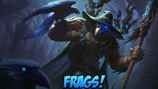 ODIN CAGE TAKES ON ANUBIS! RAVEN WARLOCK ODIN FRAGS! - Masters Ranked Duel - SMITE
