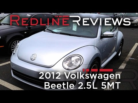 2012 Volkswagen Beetle 2.5L 5MT Review, Walkaround, Startup