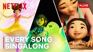 🔴 LIVE! Over the Moon 🌜Sing Along to Every Song | Netflix Futures