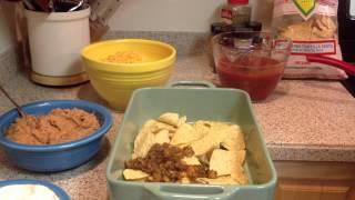Gluten Free Mexican Lasagna Made With Ground Turkey