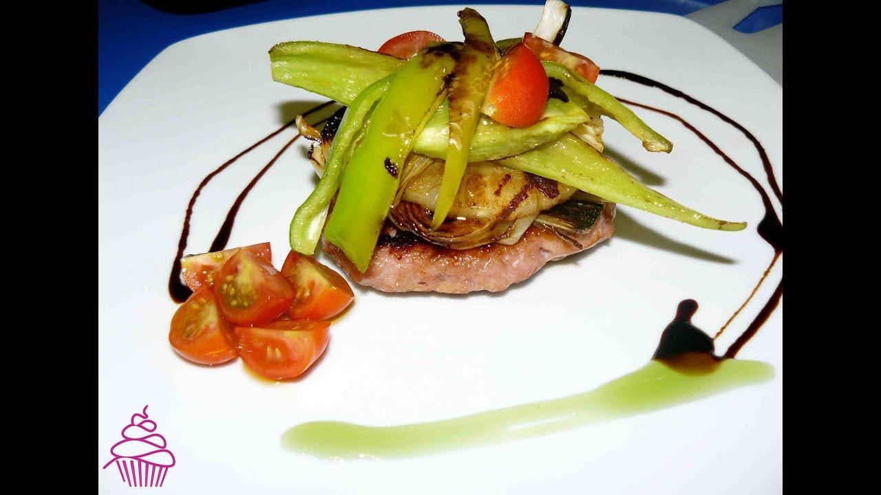 Montaje de platos dieta youtube for Decoracion de platos gourmet pdf