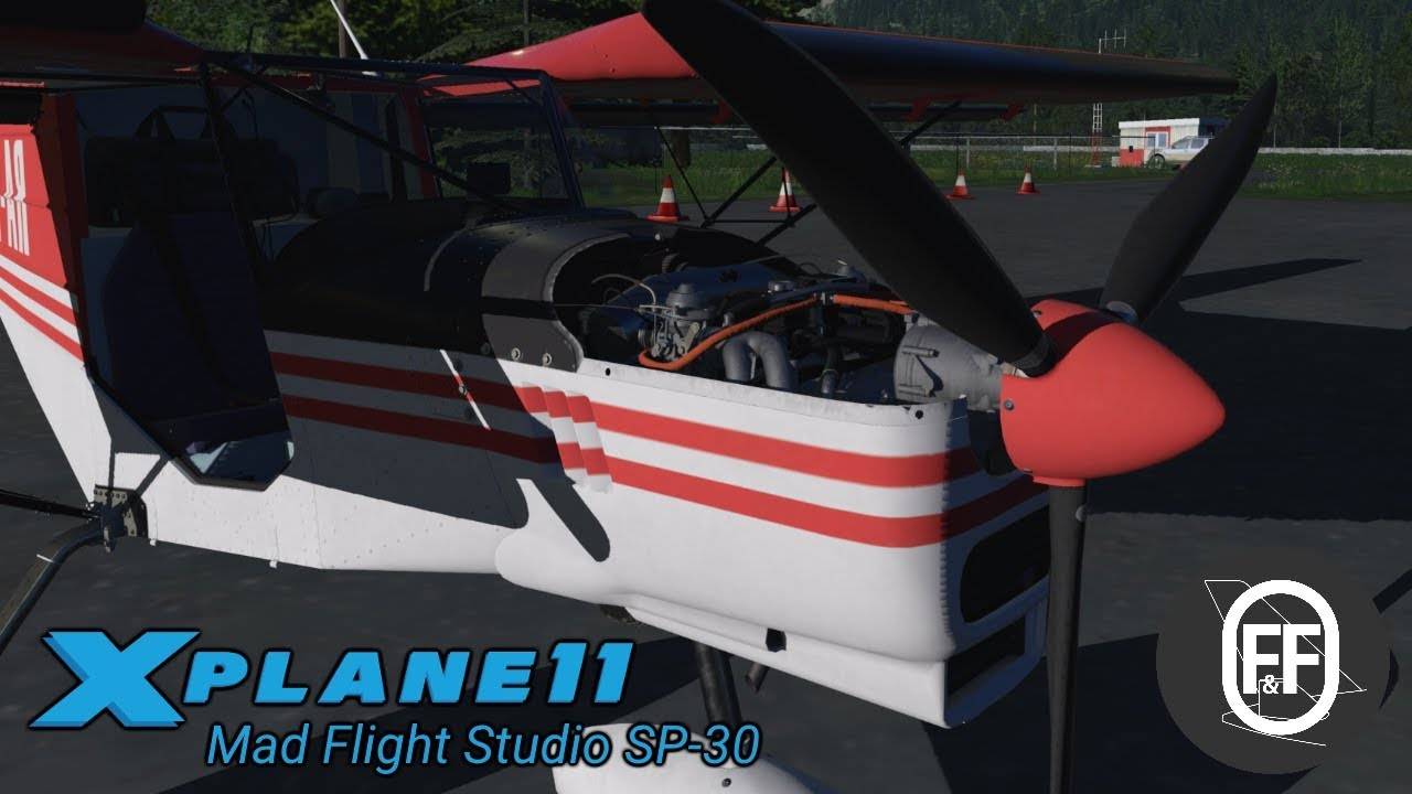 Most detailed GA aircraft for XP11? Mad Flight Studio Spectr Aero SP-30