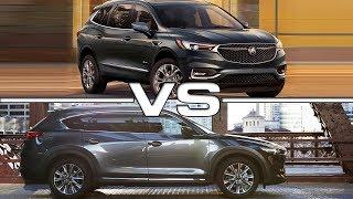 2018 Buick Enclave Avenir vs 2018 Mazda CX-8