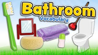 Bathroom In English   Vocabulary Of Bathroom Stuff For Kids And Beginners