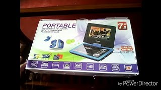 Potable DVD Player Unboxing In Hindi