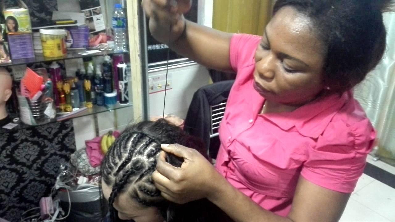 Virgin human hair weaving process in livejada hair youtube pmusecretfo Gallery