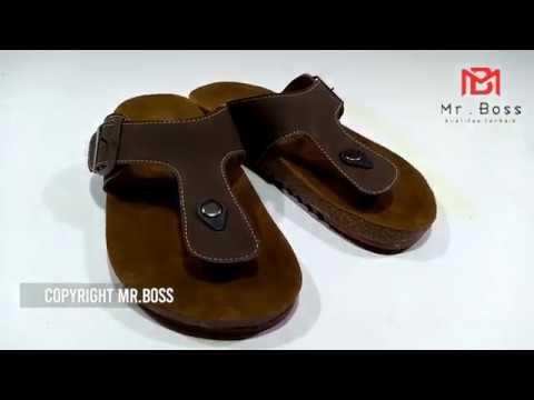 Sandal Japit Birkenstock 01 Coklat