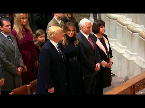 FNN: President Donald Trump Attends National Prayer Service at National Cathedral