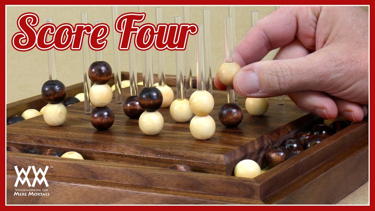 Score Four Game Fun Strategy Game And Gift Idea Youtube