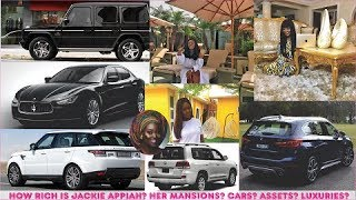 How rich is Jackie Appiah  All her Mansions Cars Companies Luxuries amp Assets