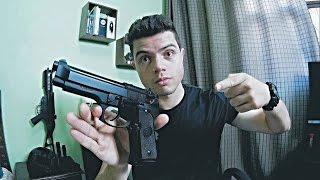 Review Pistola Beretta M9 KJW GBB airsoft