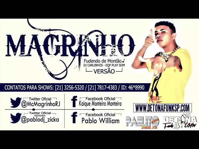 Mc MAGRINHO - FUDENDO DE MONTÃO ♪ - (DJ CARLINHOS DA SR -  EQP PLAY SOM - TRAVEL_VIDEO