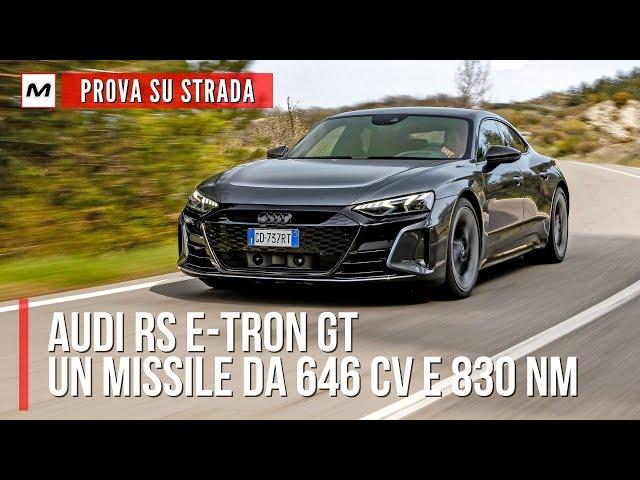 AUDI RS E-TRON GT | La PROVA SU STRADA con 646 CV e tanta voglia di farvi divertire