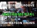 R amp B Drum Groove with Gospel Chops Tim Watson Drums