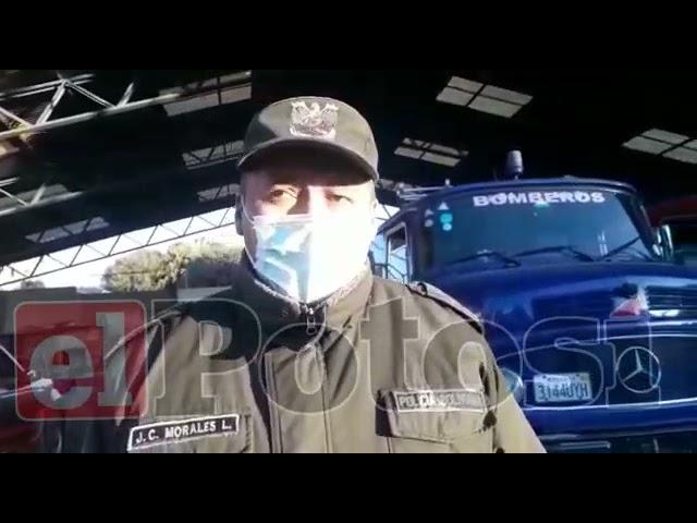 Bomberos suspende labores de rescate de mineros