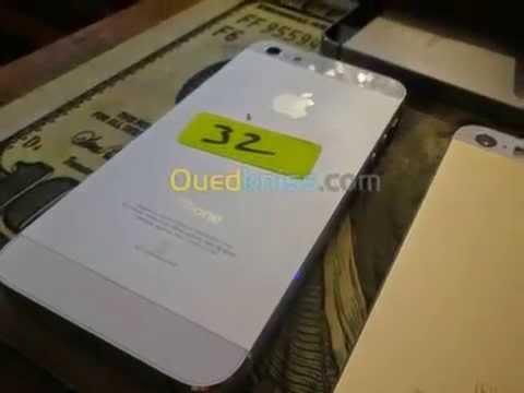 Apple iphone 5 32g libéré - Annonces Algérie - Hexashopping