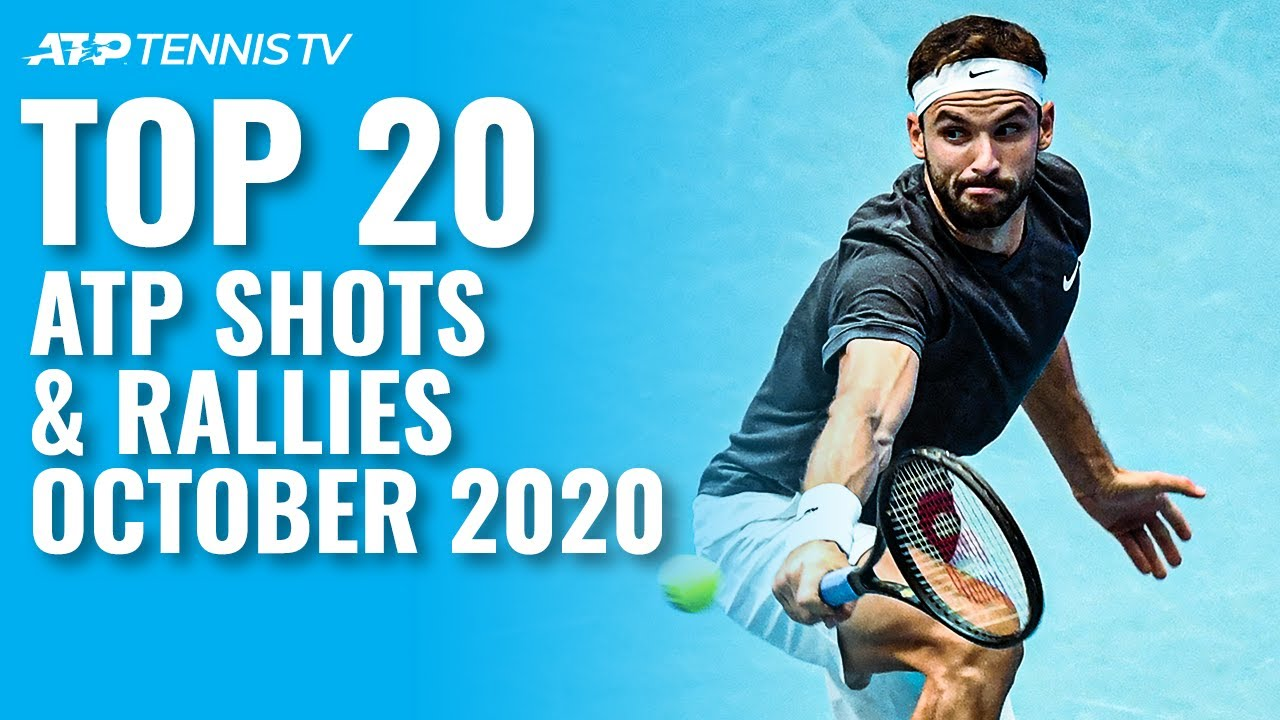 Top 20 ATP Tennis Shots & Rallies! October 2020