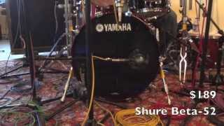 Kick Drum Mic ShootOut (Shure, AKG, Audix, Sennheiser, Audio-Technica)