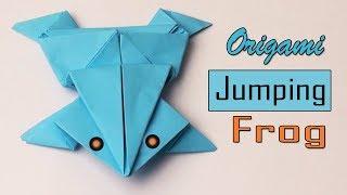 কাগজের তৈরি জিনিস | How to make an origami frog | কাগজের ব্যাঙ | কাগজের তৈরি ব্যাঙ