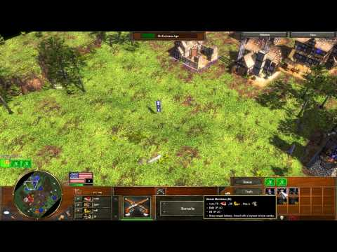 "Age of Empires 3 - The Lost Spanish Gold - Act 3 ""Steel"" Mission 4 - Let's Play Walkthrough - Hard"