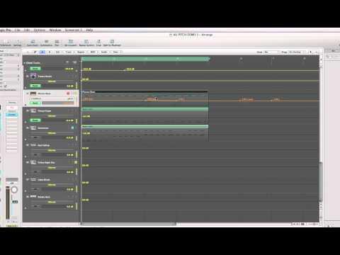 Logic Pro 9 AU Pitch Control get the sound you want
