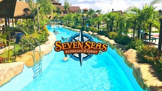 Opening of the First World-Class Themed Waterpark in the Philippines Seven Seas Waterpark 4K