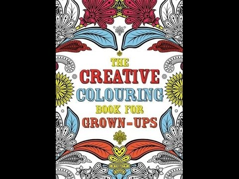 Flip Through The Creative Coloring Book For Grown Ups By Michael OMara Books