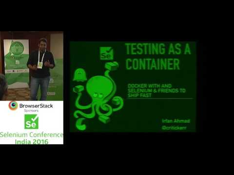 Testing as a Container Using Docker with selenium and friends
