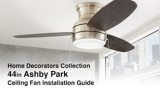 44 in Ashby Park Installation Guide
