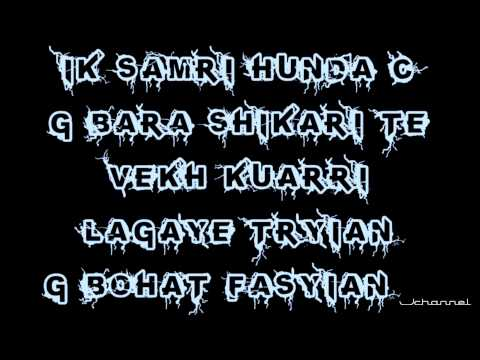 Sharry Maan - Yaar Anmulle (Video With Lyrics)