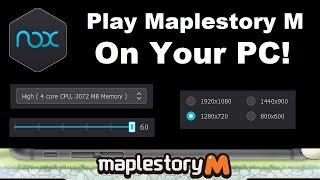 How To Macro Maplestory M