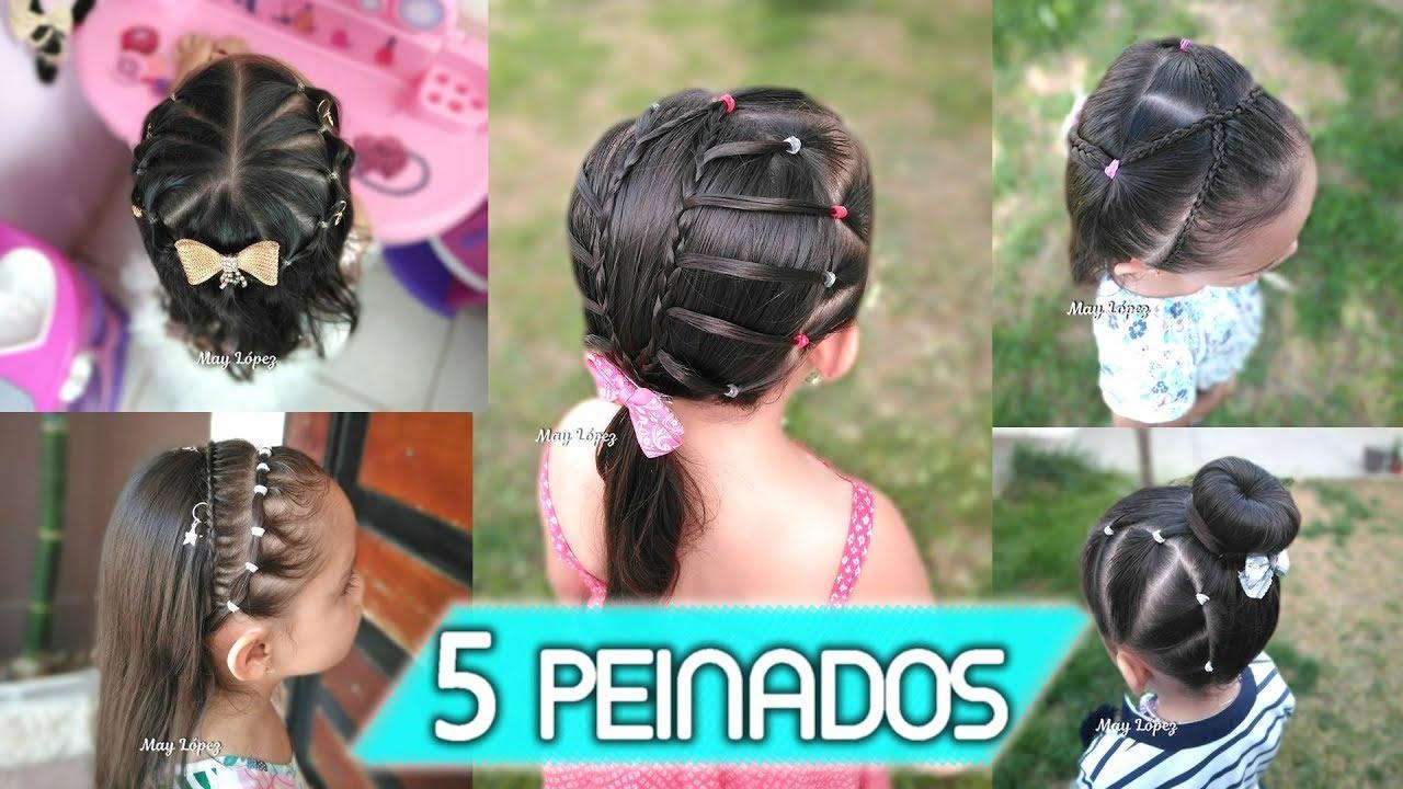 Peinados Elegantes Para Niñas Peinados Para Fiestas May Lopez