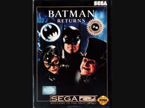 Batman Returns Sega Cd Ost - Gotham City Streets