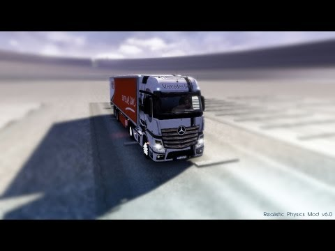 Euro Truck Simulator 2 | Realistic Physics Mod v6.0 | Safety Truck!