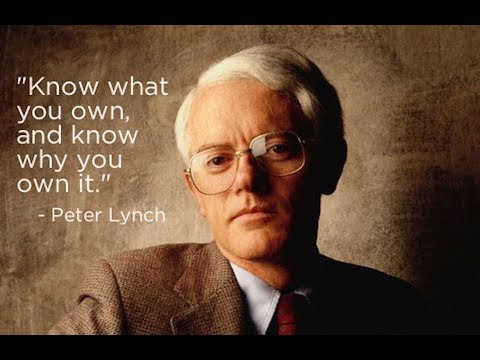How to invest in stock by Peter Lynch