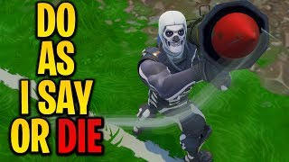 "Playing ""CRISPY SAYS"" In Fortnite Battle Royale #2"