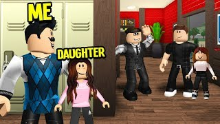 I Snuck Into A DADS Only School UNDERCOVER.. They Captured My DAUGHTER!! (Roblox Bloxburg)