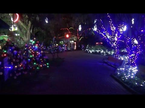 Christmas Lights New Orleans City Park 2016