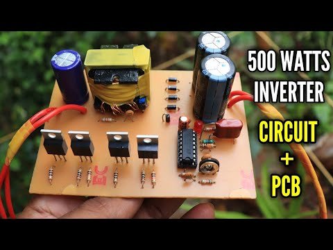 500 watts inverter using old SMPS transformer - inverter ...