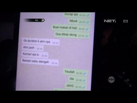 Kepergok Chat Transaksi Narkoba, Pria Pemilik Handphone Menangis Ketakutan - 86