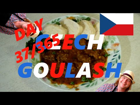 Day 37/365 is Czech Goulash 196flavors.com (My 1 Year Cooking Challenge)