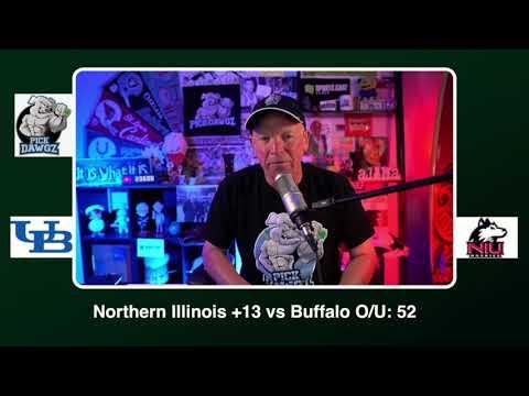Northern Illinois vs Buffalo Free College Football Picks and Predictions CFB Tips Wednesday 11/4/20