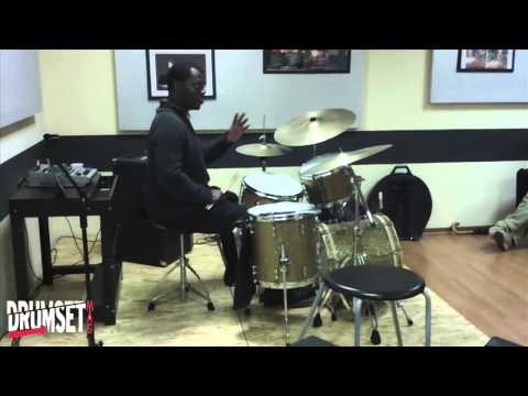 Greg Hutchinson, drum solo and Walk the Dog