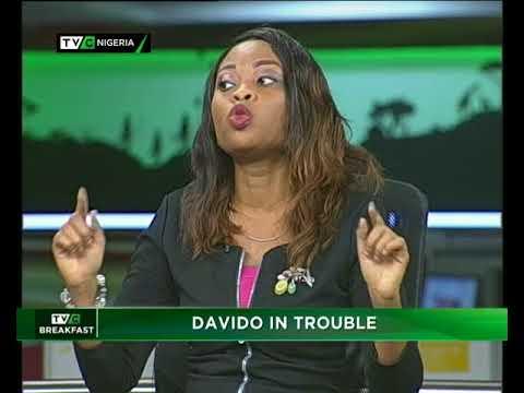 TVC Breakfast 13th October 2017 | Davido in Trouble