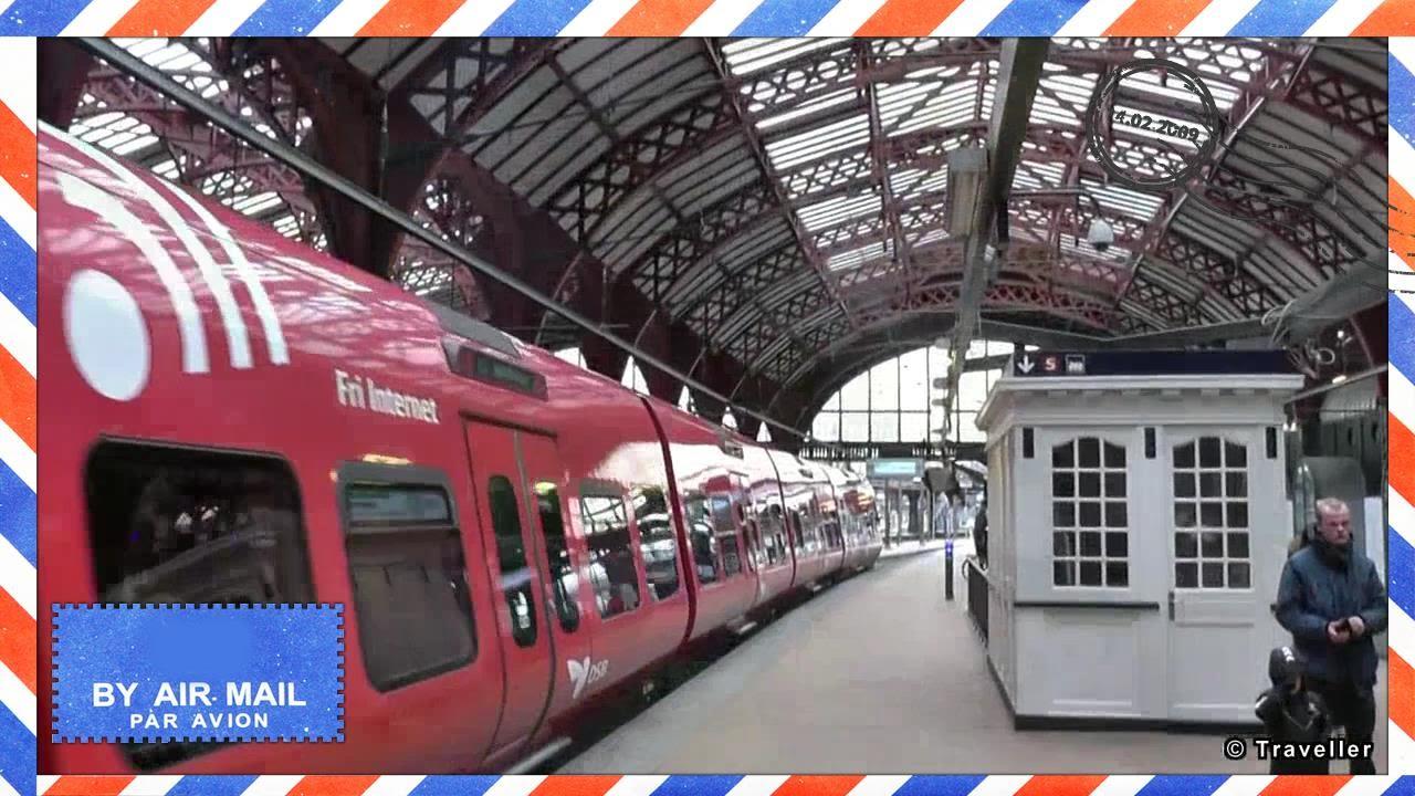copenhagen central train station with dsb s trains k benhavns hovedbaneg rd s tog youtube. Black Bedroom Furniture Sets. Home Design Ideas