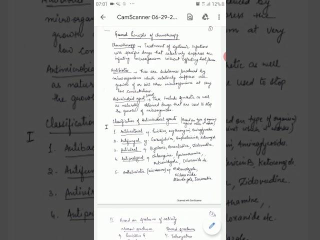 General principles of chemotherapy by Shikha Raheja