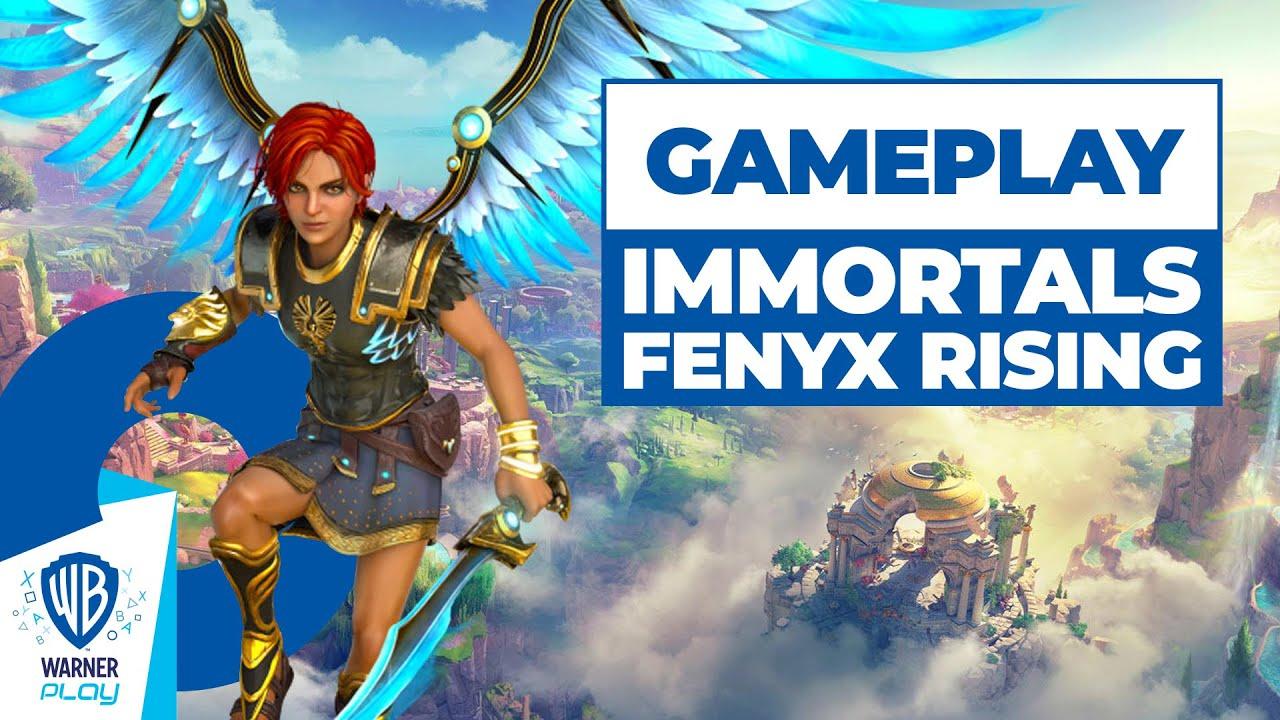 Immortals Fenyx Rising - Gameplay