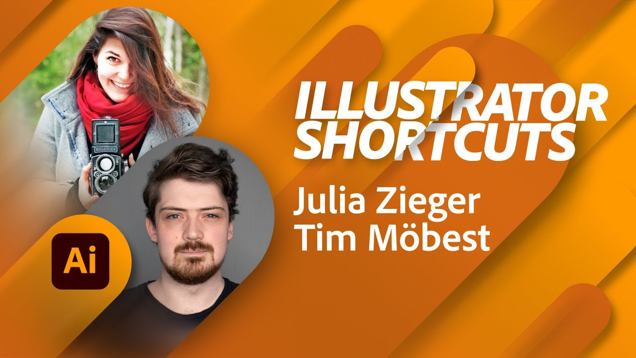 Clevere Shortcuts in Illustrator - mit Julia Zieger |Adobe Live